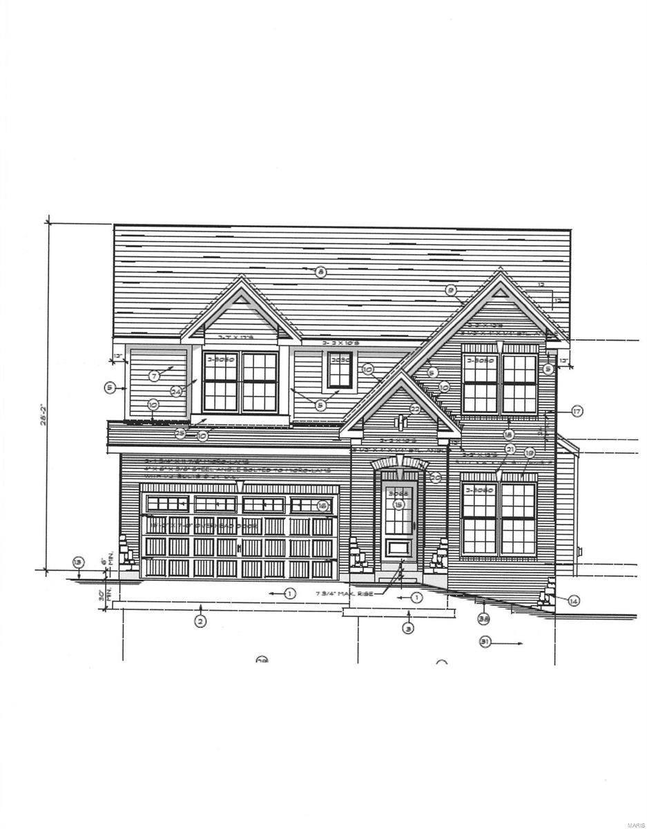 10407 Savannah Property Photo - Frontenac, MO real estate listing
