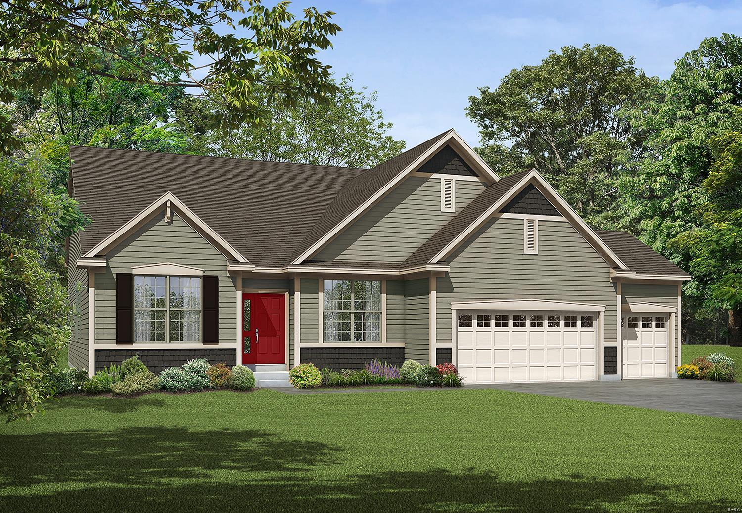1 Meridian II 4@Alexander Woods Property Photo - Chesterfield, MO real estate listing