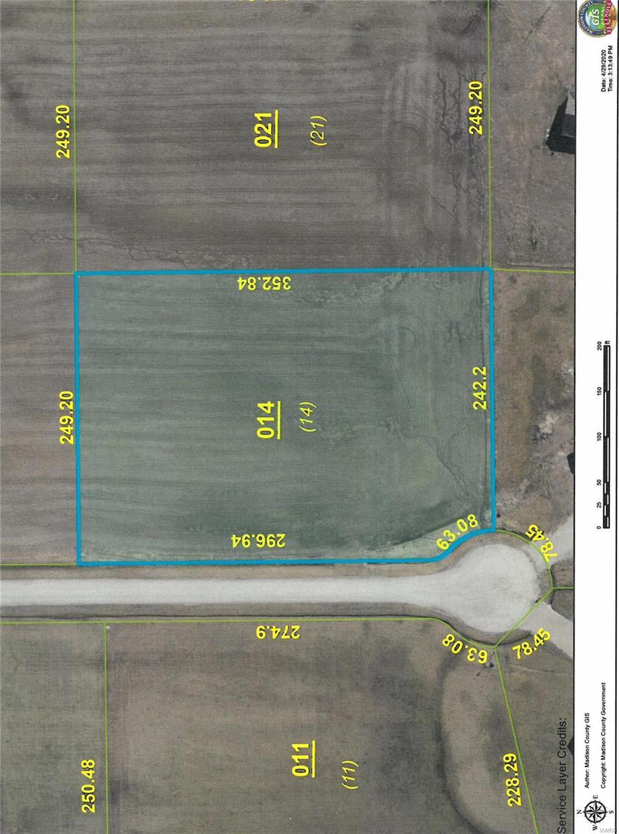 4612 Kay Lynn Lot 14 Drive Property Photo - Pocahontas, IL real estate listing