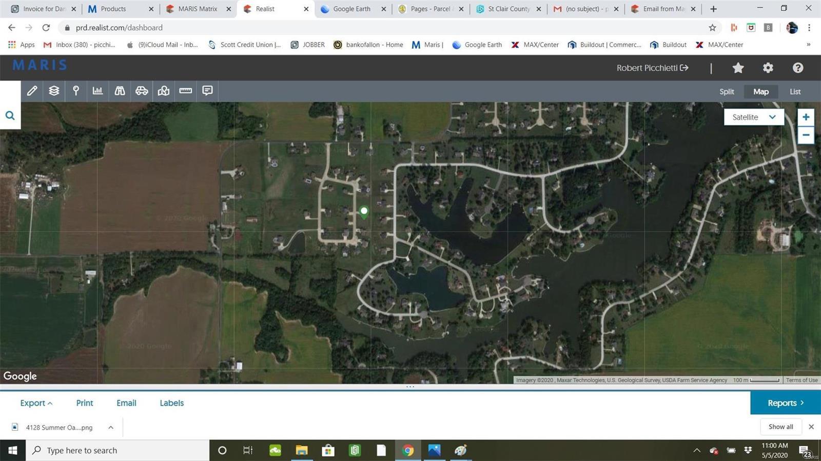 4025 Autumn Oak Road Property Photo - Smithton, IL real estate listing