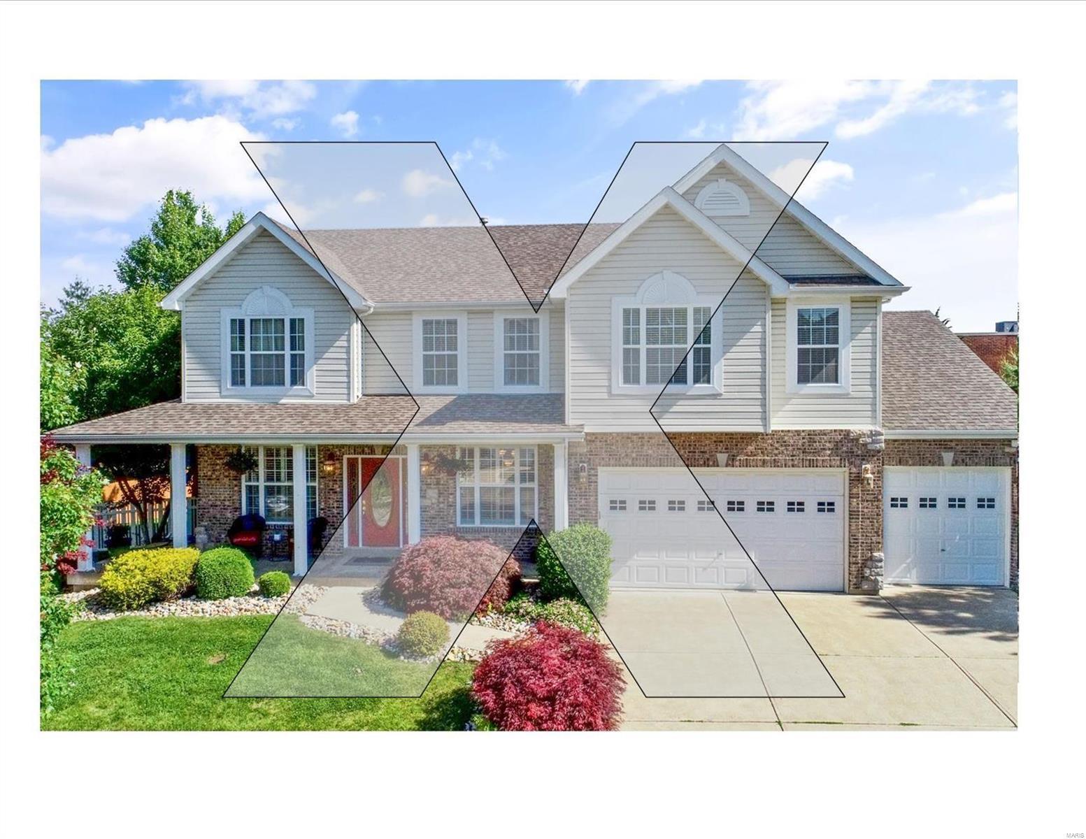 1195 Oak Hill Court Property Photo - Ellisville, MO real estate listing