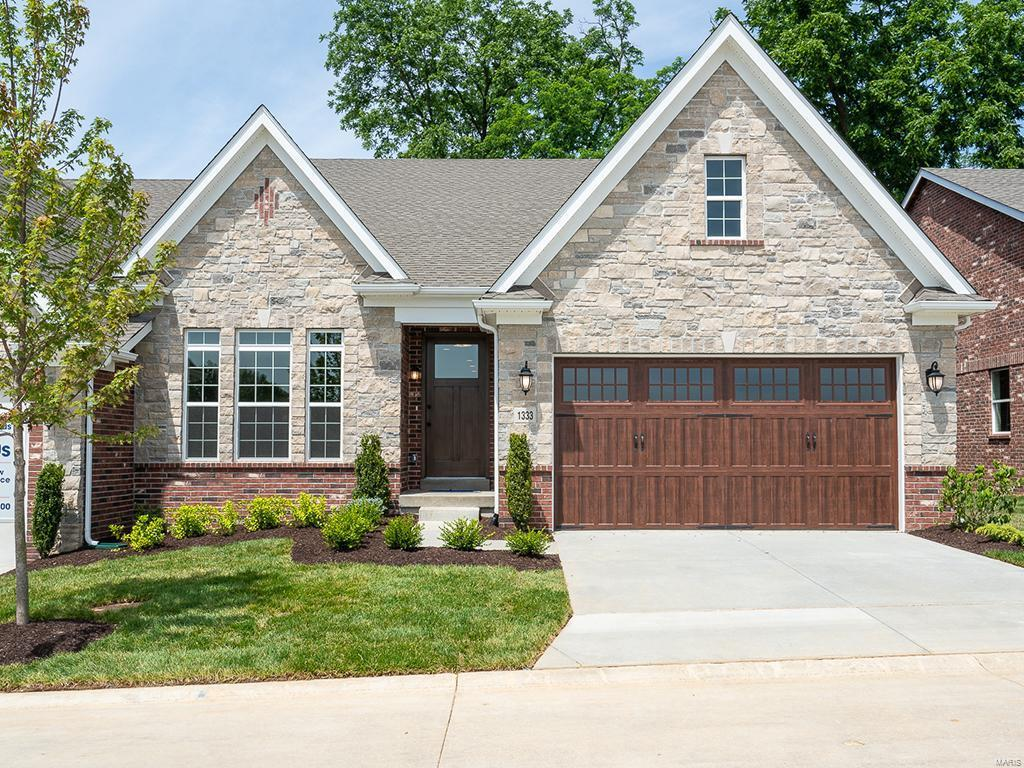 1413 Spring Snow Drive Property Photo - Frontenac, MO real estate listing