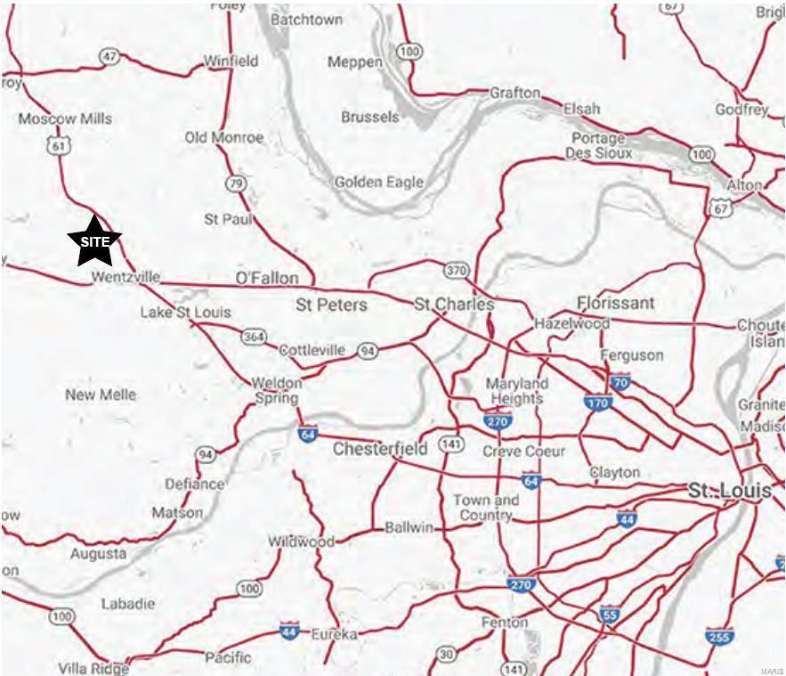 0 West Meyer & Pointe Prairie Road Property Photo - Wentzville, MO real estate listing