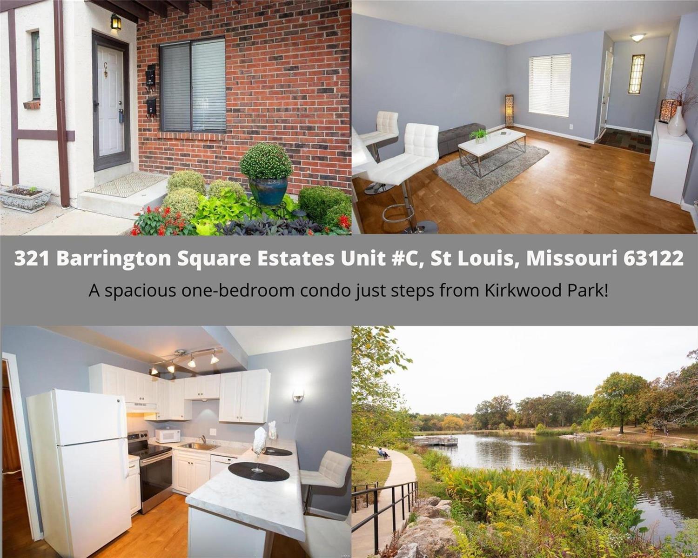 321 Barrington Square Estates #C Property Photo - St Louis, MO real estate listing