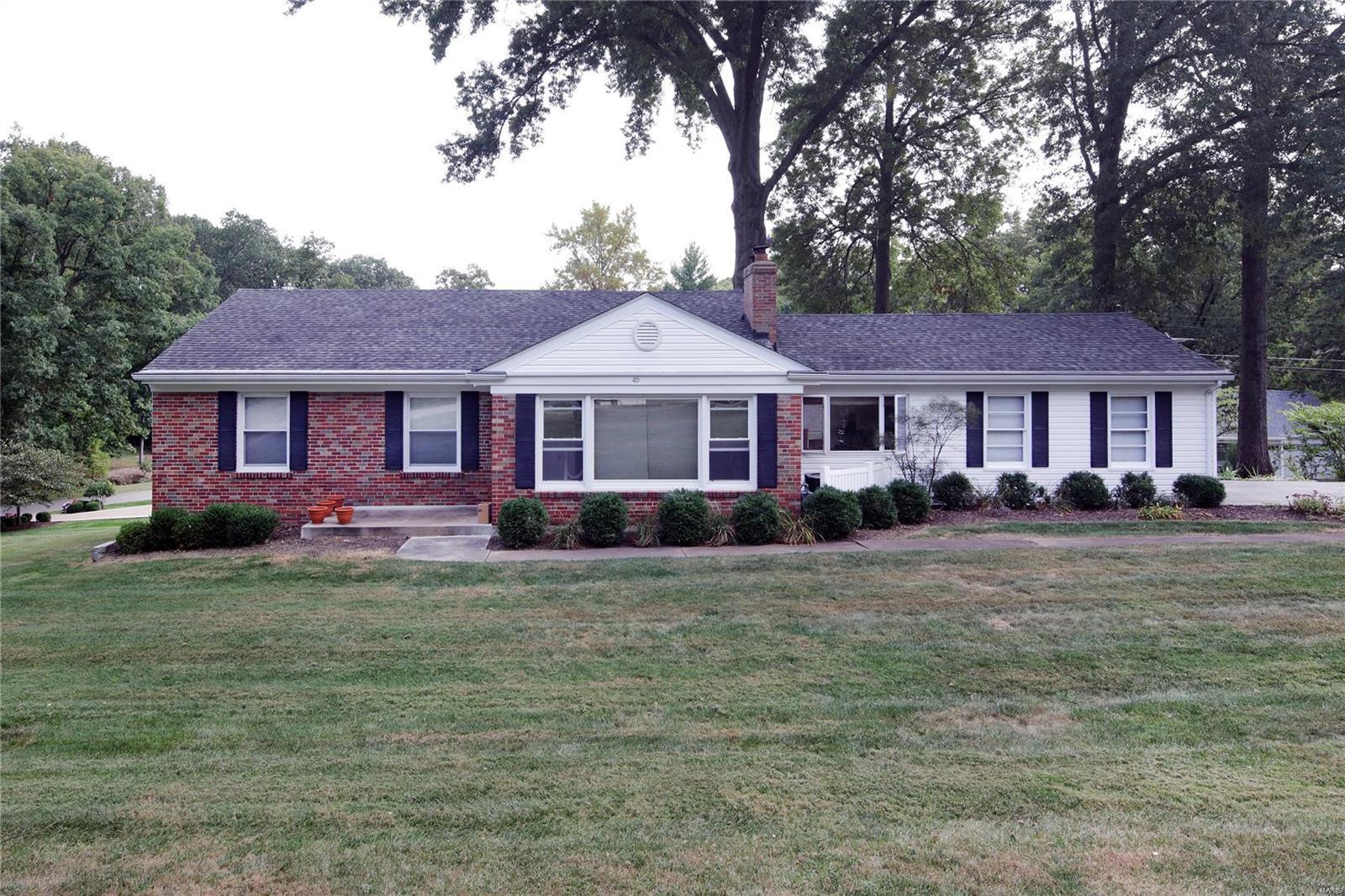 46 Tealwood Drive Property Photo - Creve Coeur, MO real estate listing