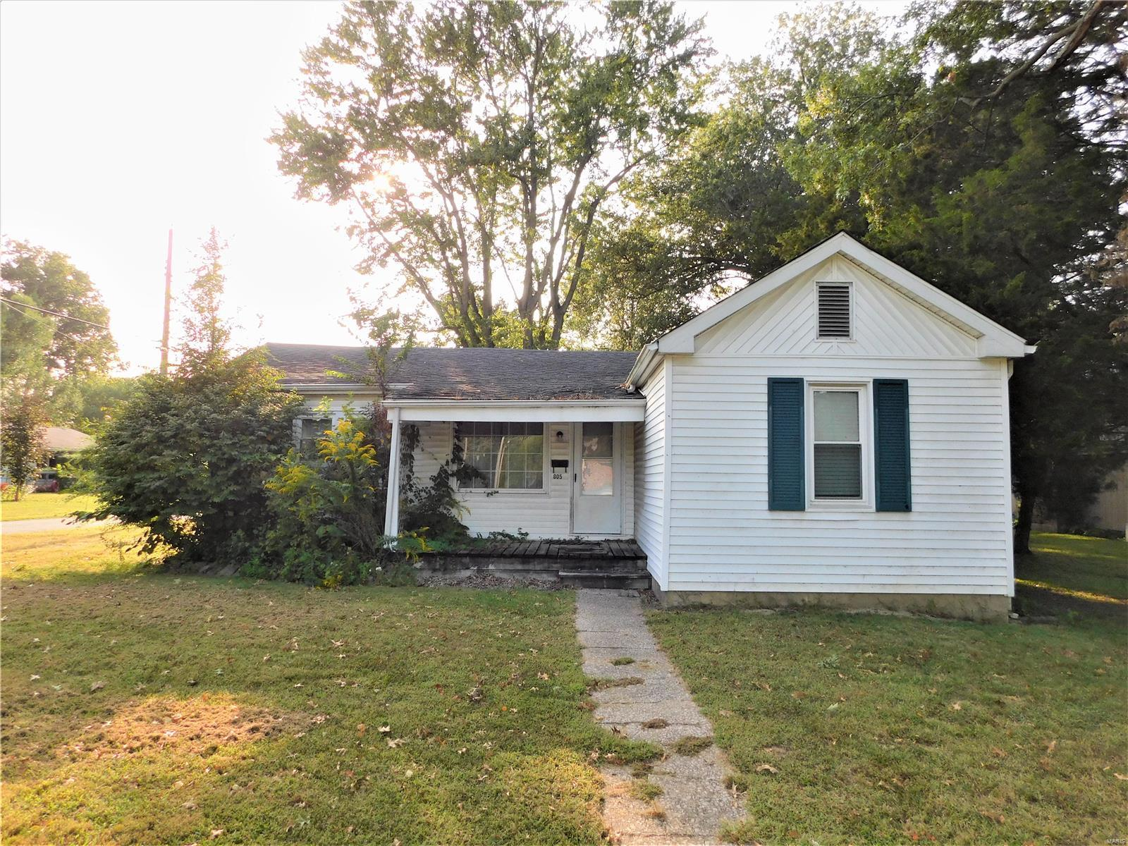 805 S 1st Street Property Photo - Benton, IL real estate listing