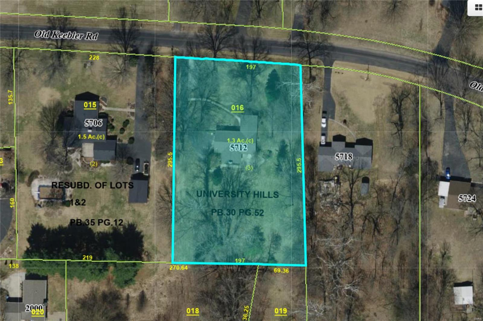 5712 Old Keebler Road Property Photo - Collinsville, IL real estate listing