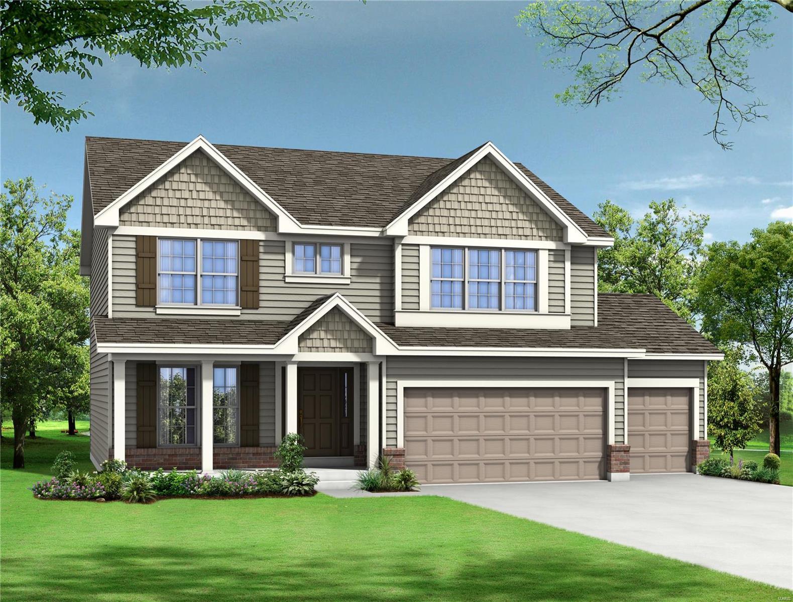 2 Arbors / Prescott Model Property Photo - Eureka, MO real estate listing