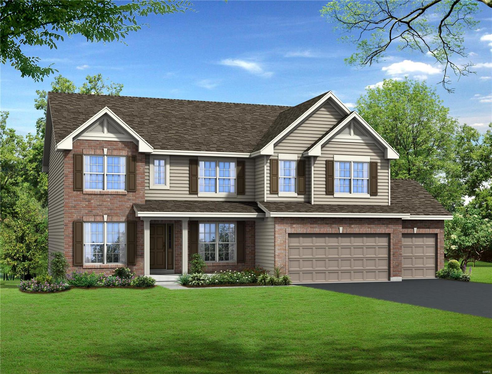 2 Arbors/ Westhampton Model Property Photo - Eureka, MO real estate listing