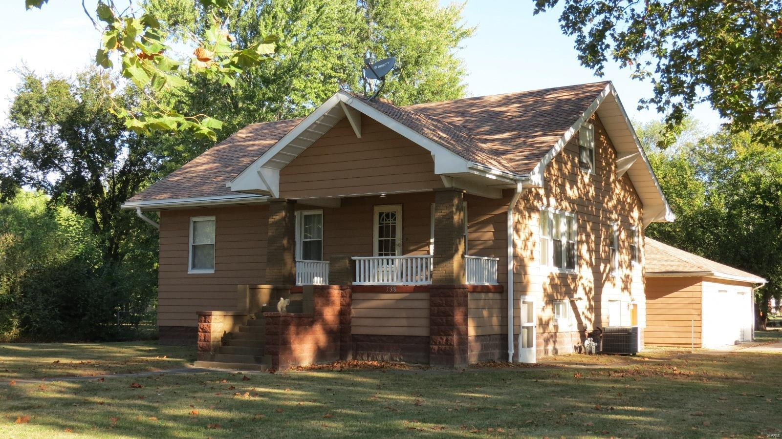 538 East First South Street Property Photo - Tamaroa, IL real estate listing