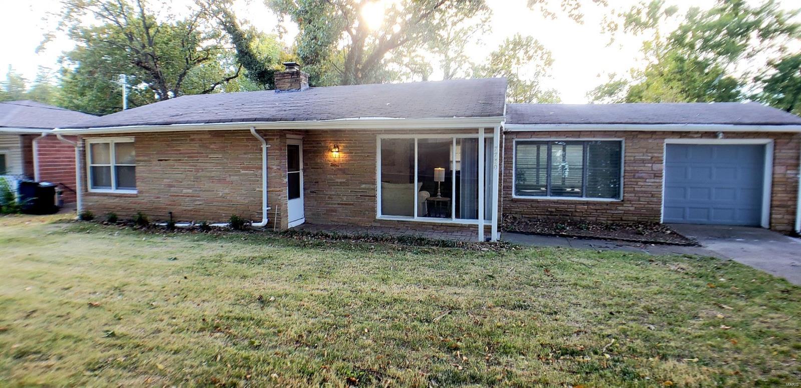 7730 Circle Drive Property Photo - St Louis, MO real estate listing