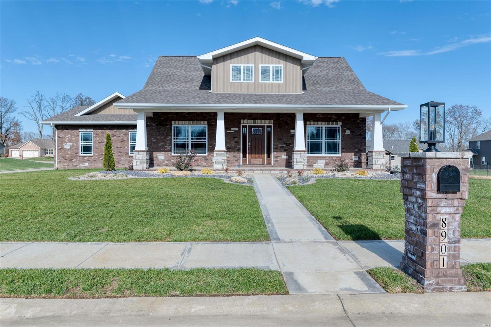 8901 Rock Creek Drive Property Photo - St Jacob, IL real estate listing