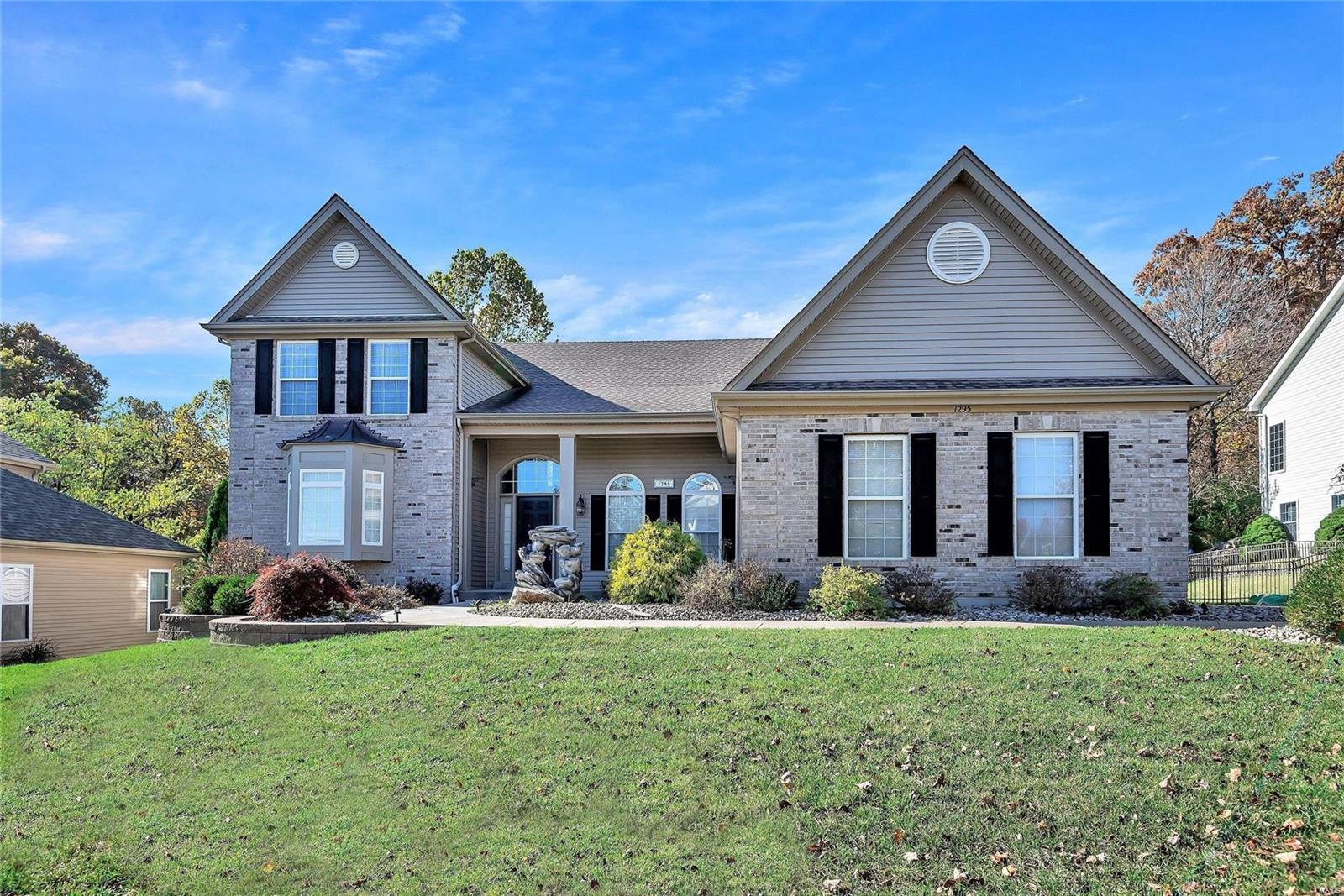 1295 Polo Lake Property Photo - Ellisville, MO real estate listing