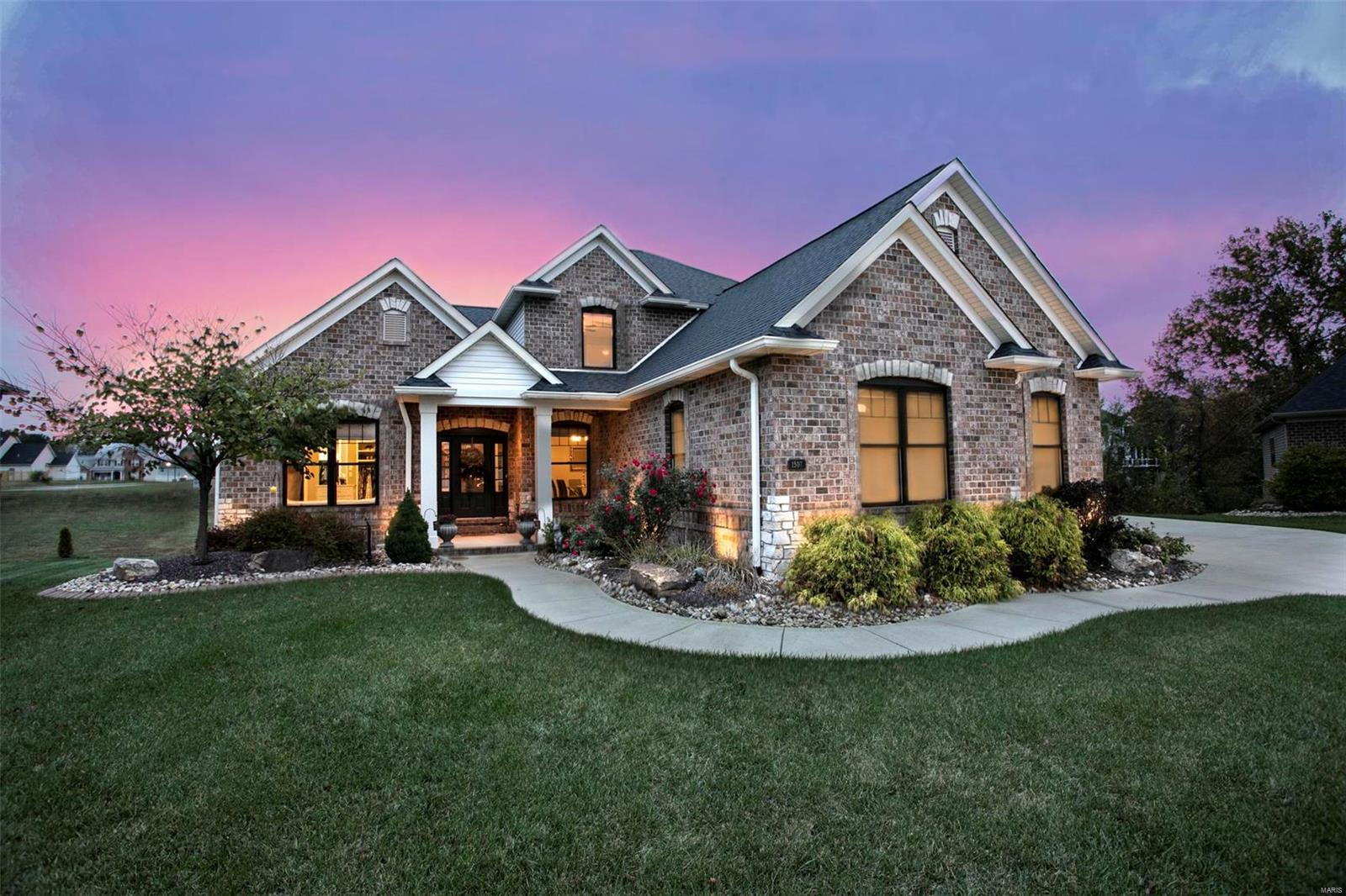 1507 Beveridge Court Property Photo - Edwardsville, IL real estate listing