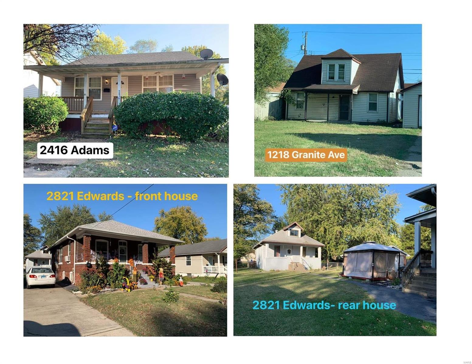 2821 Edwards Street Property Photo - Granite City, IL real estate listing