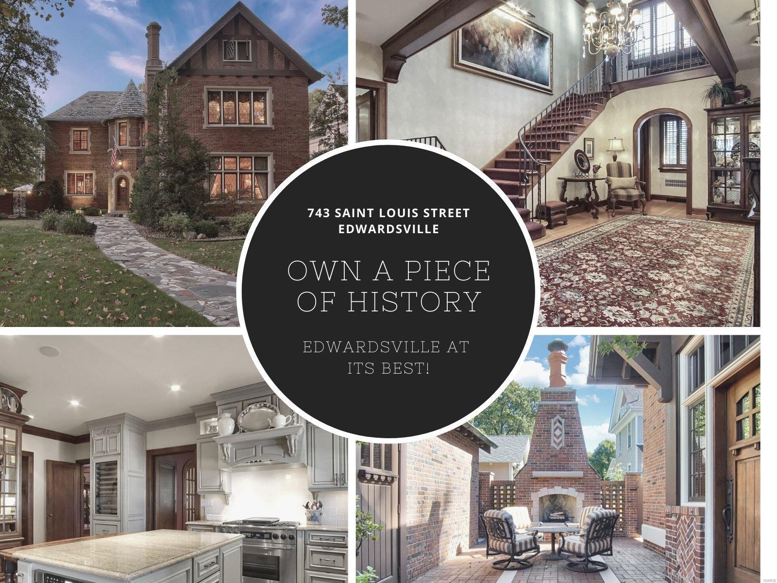 743 Saint Louis Street Property Photo - Edwardsville, IL real estate listing