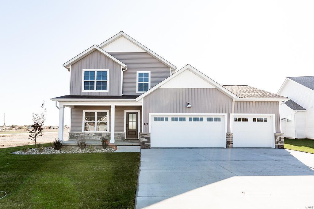 653 Fairway Wood Drive Property Photo - O'Fallon, IL real estate listing