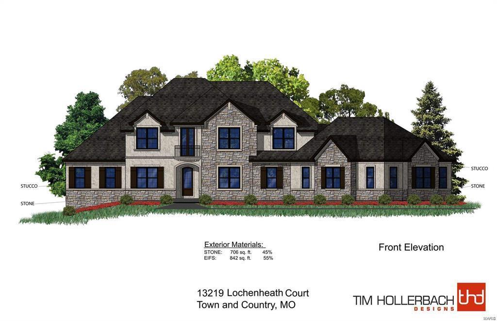 13219 Lochenheath (Lot 3) TBB Court Property Photo - Town and Country, MO real estate listing