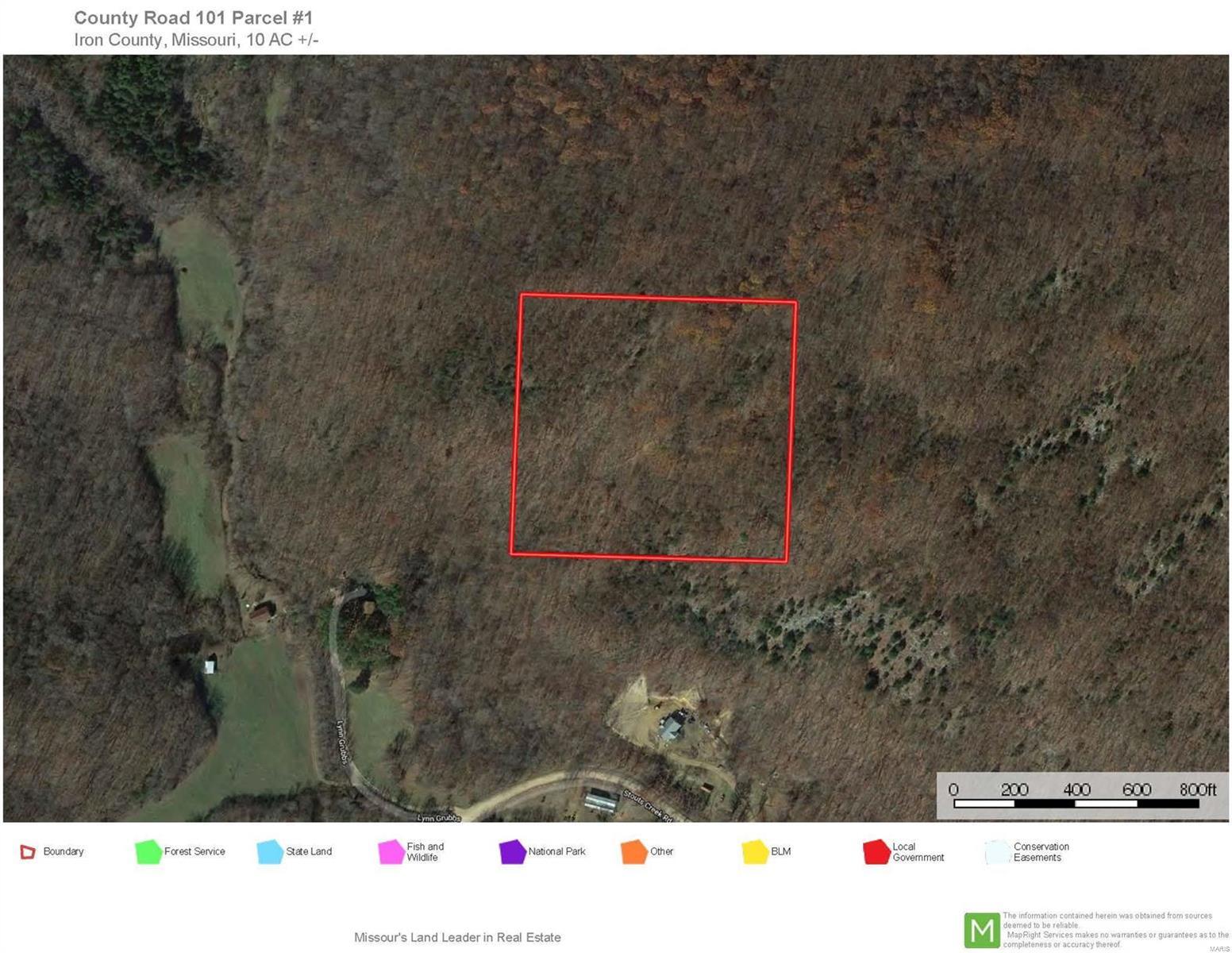 0 Co Rd 101 Property Photo - Ironton, MO real estate listing