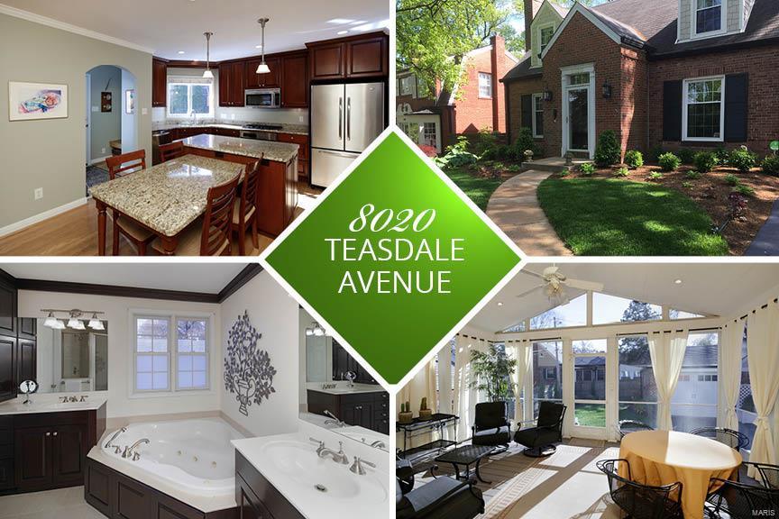 8020 Teasdale Avenue Property Photo - University City, MO real estate listing