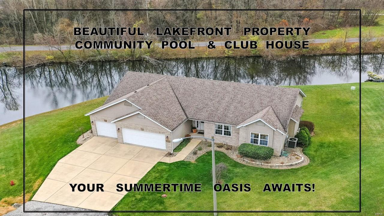 5 Lake Shore Dr. Property Photo - Worden, IL real estate listing