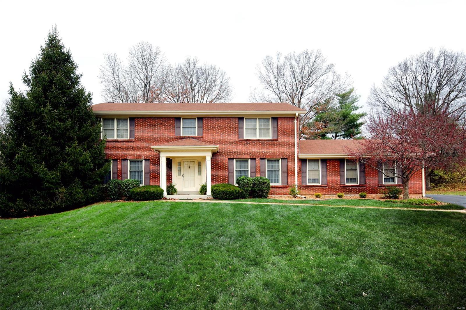 112 Brooktrail Court Property Photo - Creve Coeur, MO real estate listing