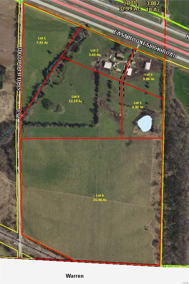 0 East Booneslick Road, Lot 1 Property Photo - Jonesburg, MO real estate listing