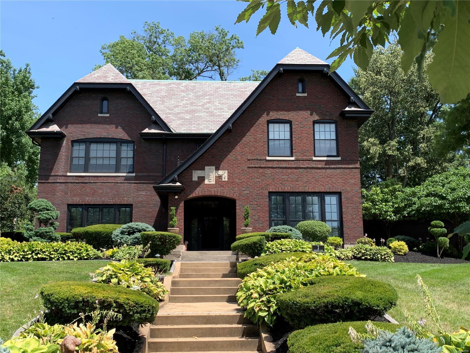 2 Ridgemoor Drive Property Photo - Clayton, MO real estate listing