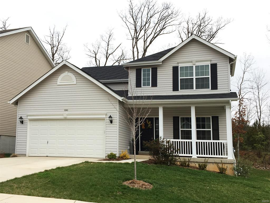 1161 Winding Bluffs Way Property Photo - Fenton, MO real estate listing