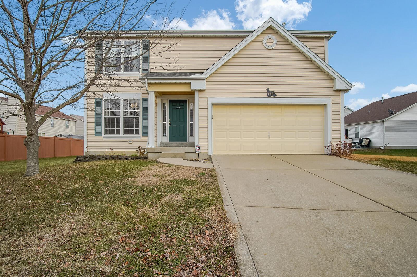 114 Bayberry Drive Property Photo - Fairview Heights, IL real estate listing