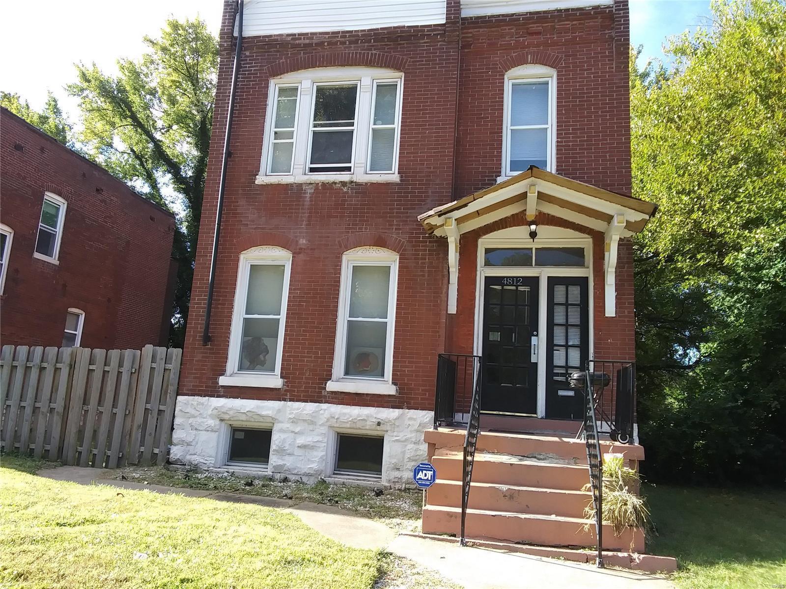 4812 Cote Brilliante Avenue Property Photo - St Louis, MO real estate listing