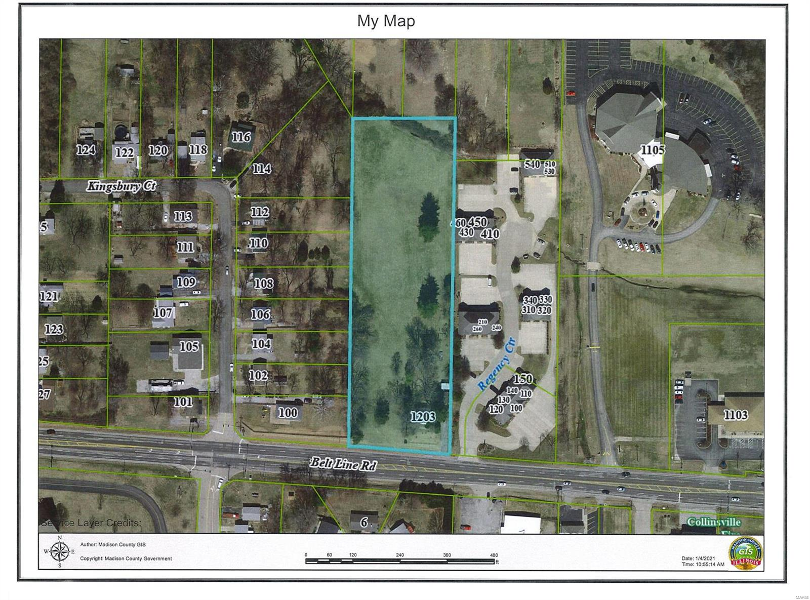 1203 Belt Line Road Property Photo - Collinsville, IL real estate listing