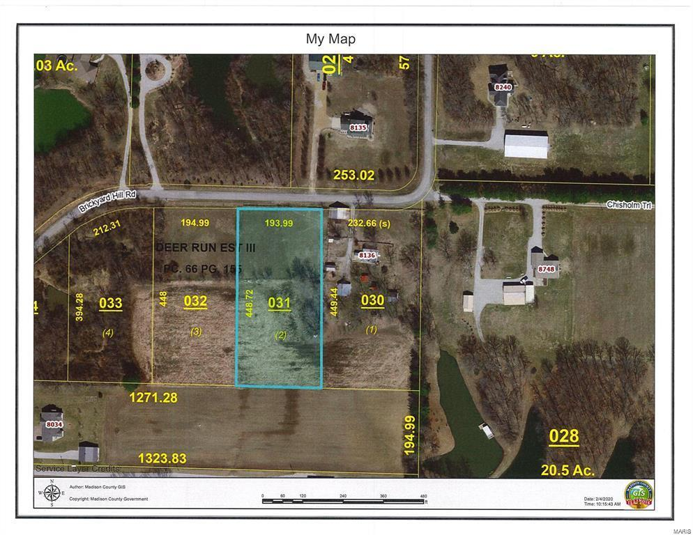 8136 Brickyard Hill Tract 2 Road Property Photo - Worden, IL real estate listing