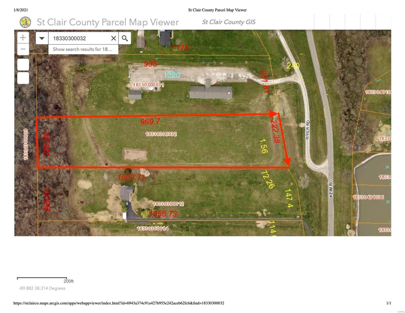 2509 River Road Property Photo - New Athens, IL real estate listing