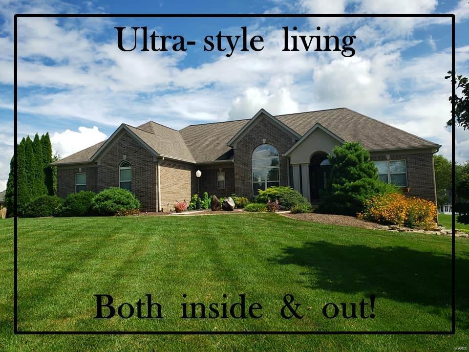 2 Matthew Allen Ct. Property Photo - Troy, IL real estate listing