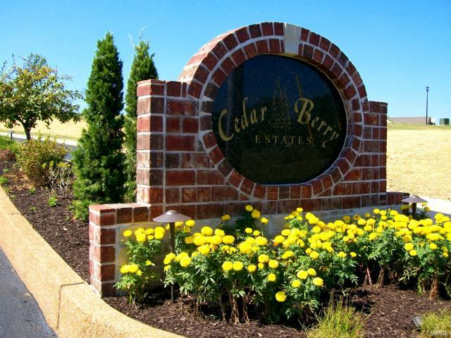 1 Cedar Berry Drive Property Photo - Washington, MO real estate listing