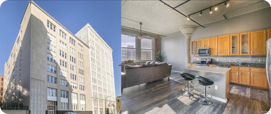 1511 Locust #609 Property Photo - St Louis, MO real estate listing
