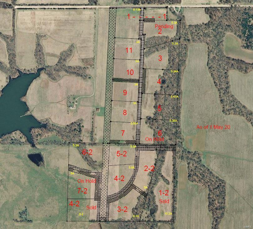 0 Greenlawn (Tract #9) Trail Property Photo - Perry, MO real estate listing