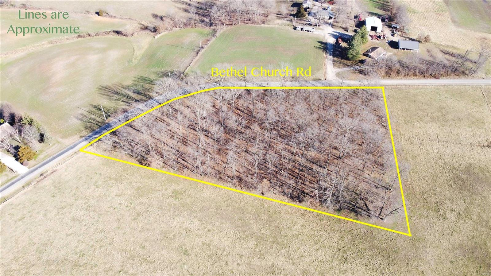 0 000 Bethel Church Road Property Photo - Pinckneyville, IL real estate listing