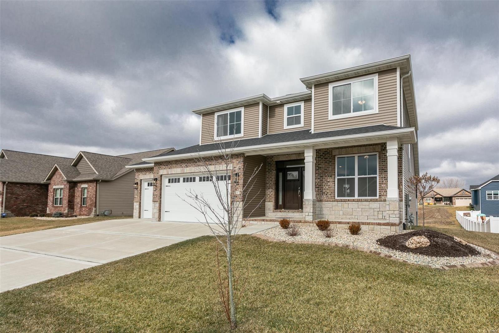 207 Ellington Court Property Photo - Glen Carbon, IL real estate listing