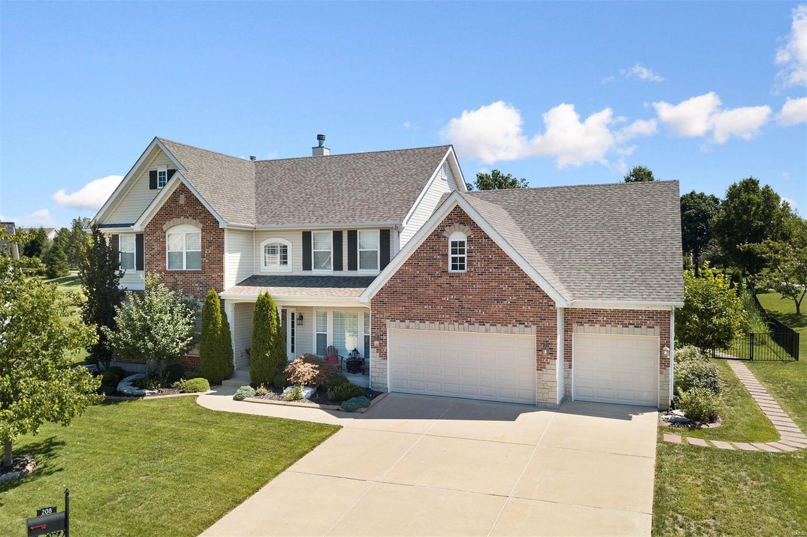 208 Spyglass Hill Drive Property Photo - Wildwood, MO real estate listing