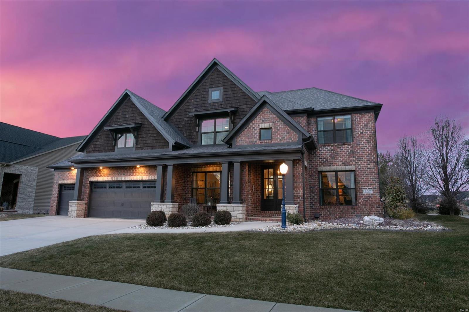 3300 Hershiser Court Property Photo - Edwardsville, IL real estate listing