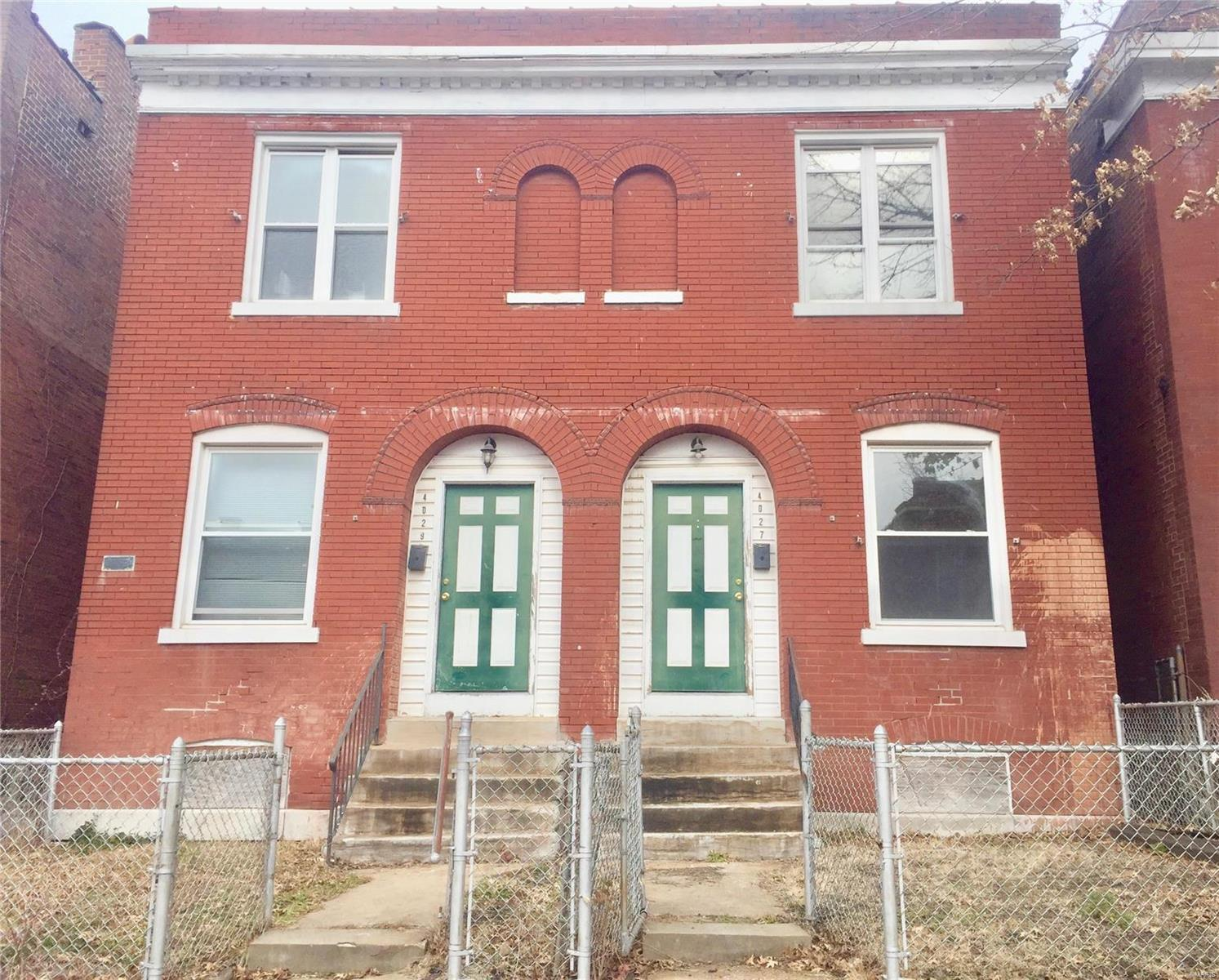 4027 Palm Street Property Photo - St Louis, MO real estate listing