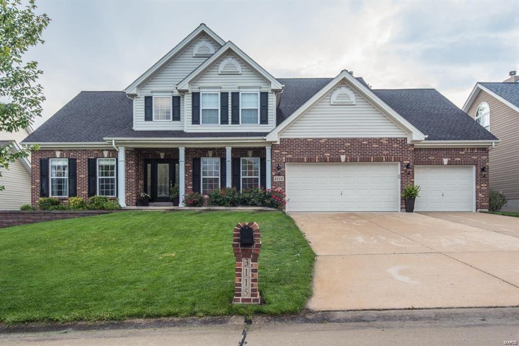 3115 Brook Hollow Drive Property Photo - O'Fallon, MO real estate listing