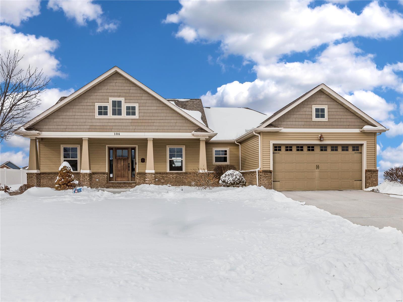 104 Reagan Property Photo - Troy, IL real estate listing