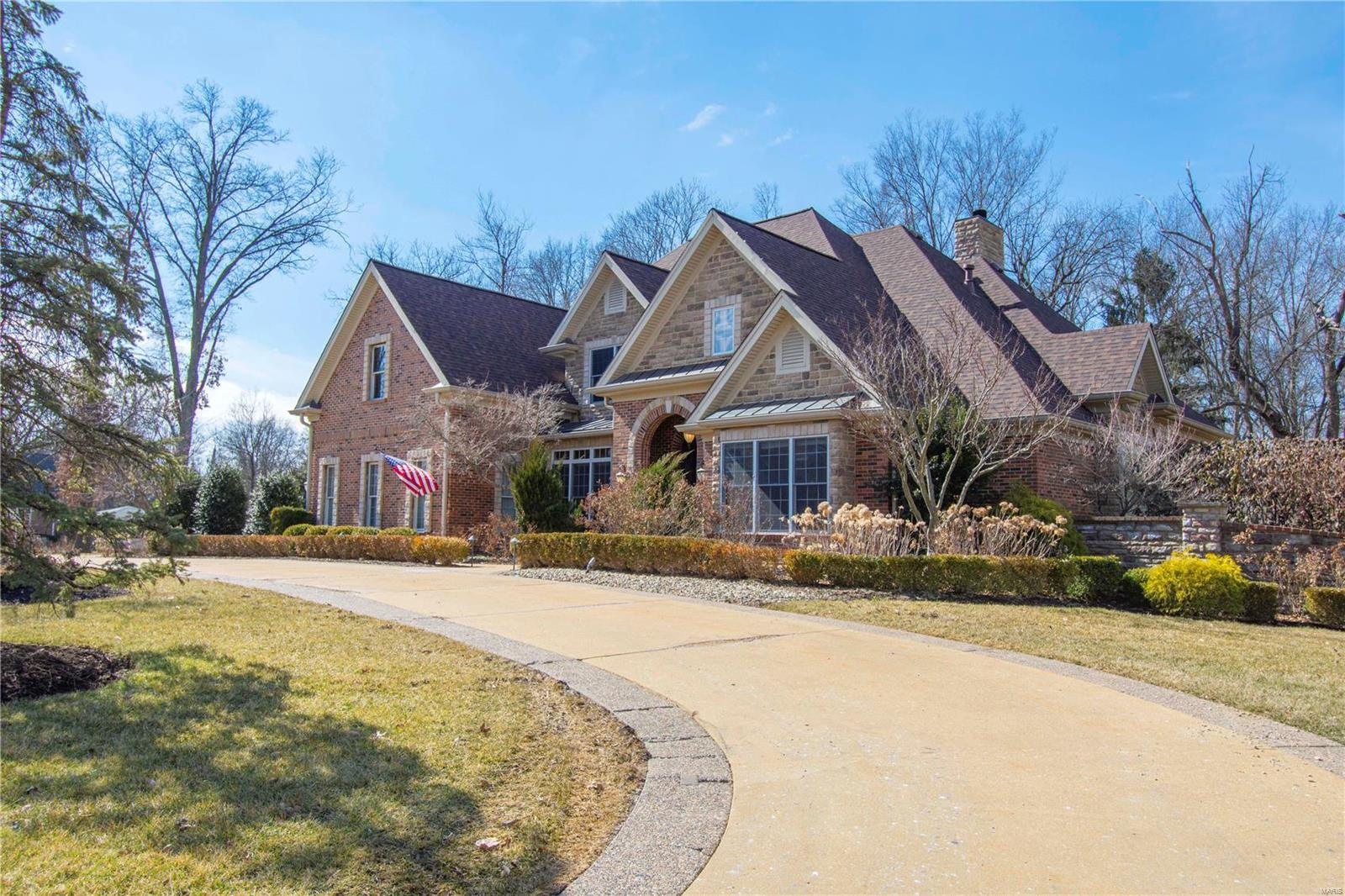 1015 S Spoede Road Property Photo - Frontenac, MO real estate listing