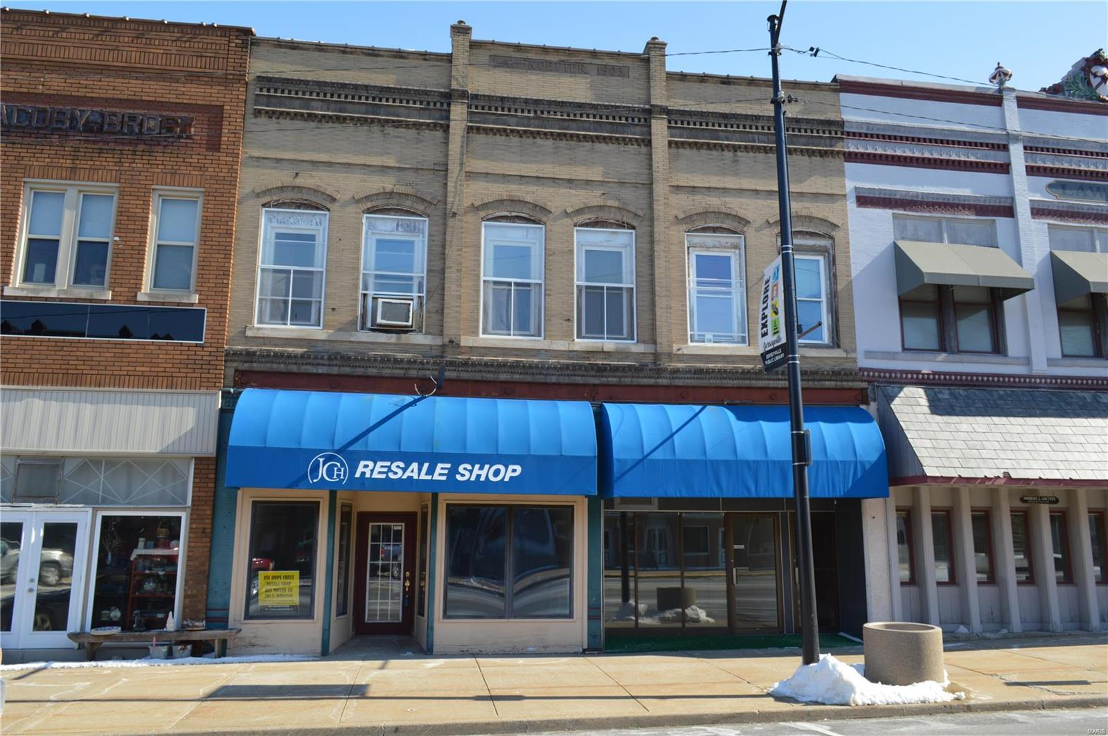 107 N State Street #109 A & B Property Photo - Jerseyville, IL real estate listing