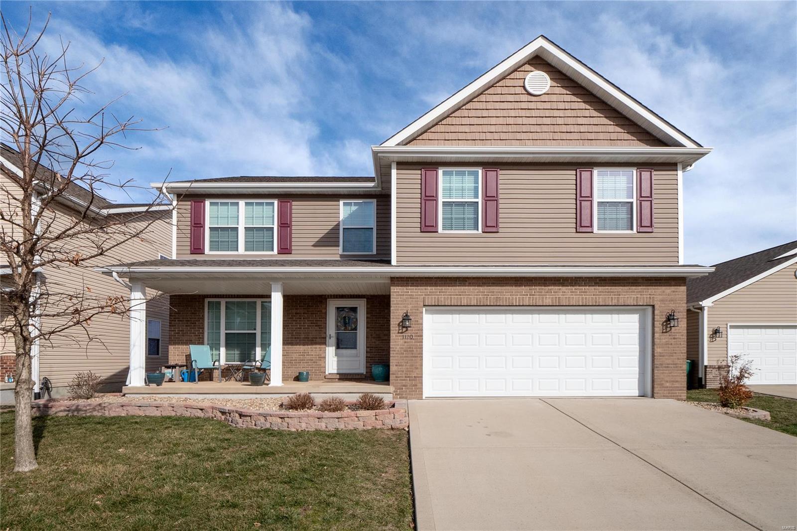 1120 LEAR Lane Property Photo - Mascoutah, IL real estate listing