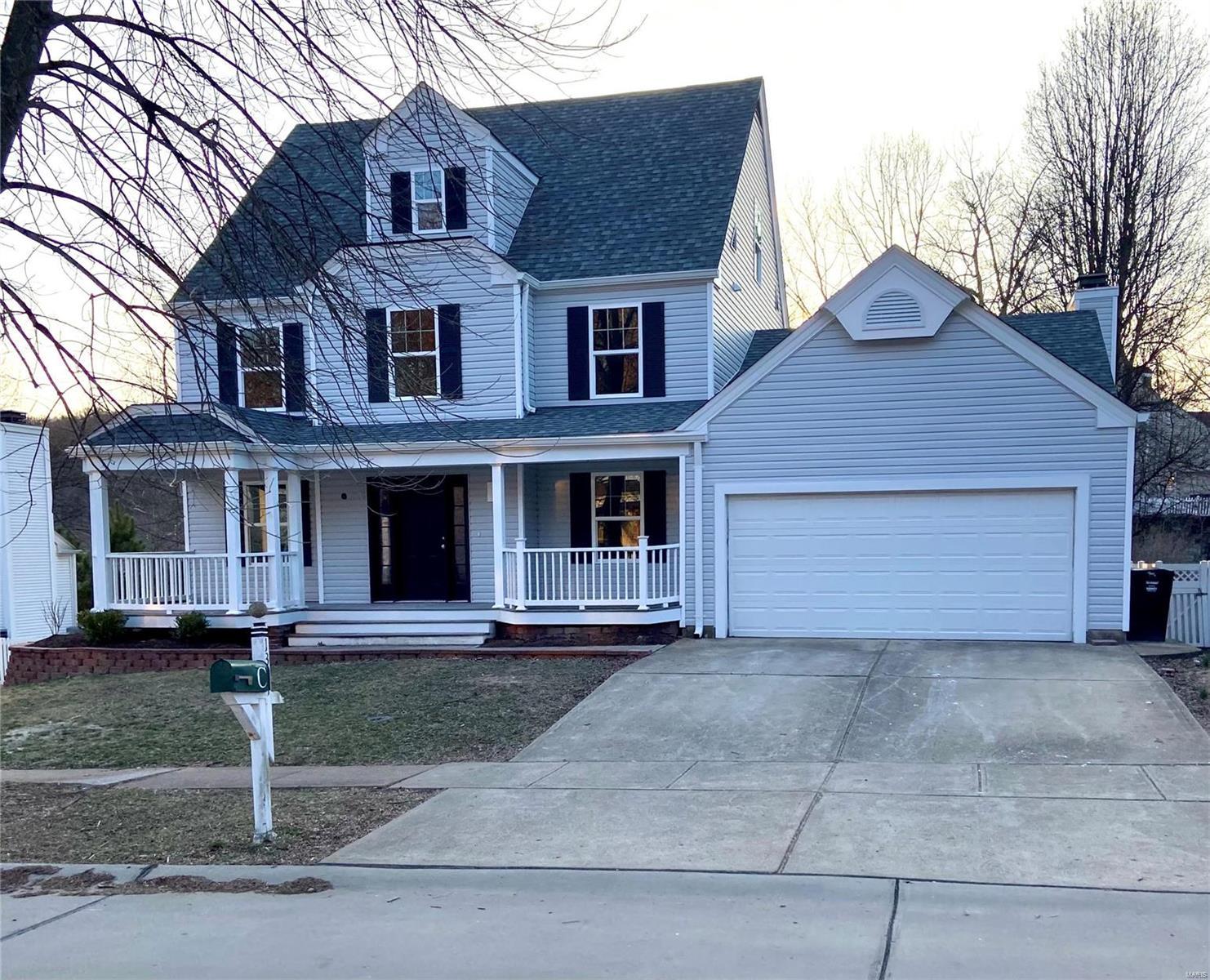 1307 Red Oak Plantation Drive Property Photo - Ballwin, MO real estate listing