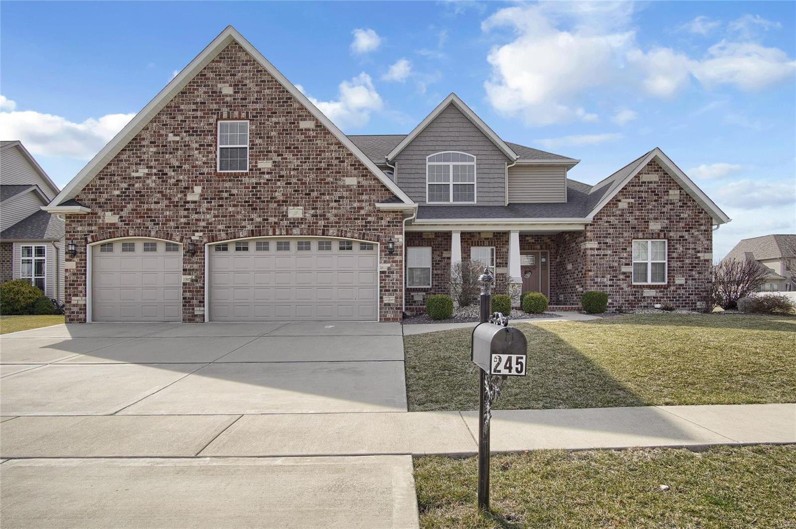 245 Oakshire Drive E Property Photo - Glen Carbon, IL real estate listing